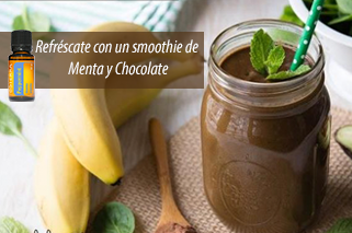 Smoothie de Menta y Chocolate