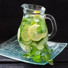 Agua fresca saludable